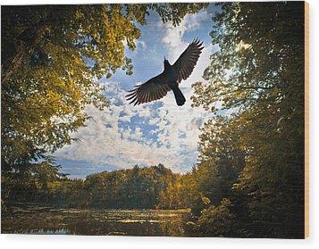 Season Of Change Wood Print by Bob Orsillo