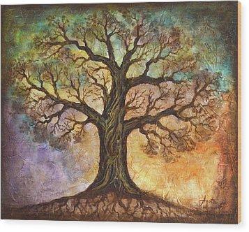 Seasons Of Life Wood Print