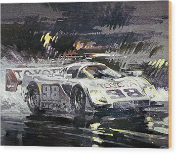 Sebring 12 Hour Wood Print by Don Getz