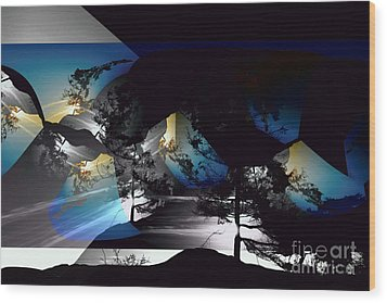 Sechelt Tree 11 Wood Print