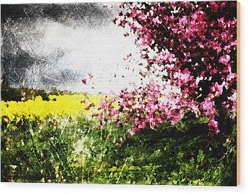 Secret Garden Wood Print by Andrea Barbieri