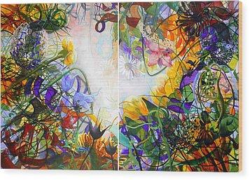 Secret Garden Wood Print by Georg Douglas