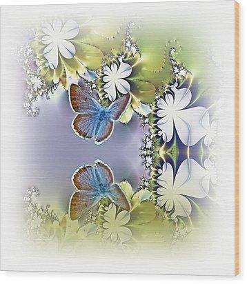 Secret Garden Wood Print by Sharon Lisa Clarke