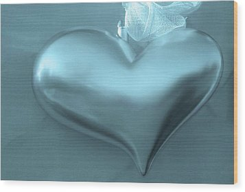 Wood Print featuring the photograph Secret Heart by Juergen Weiss