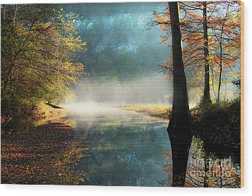 Secret Hideaway At Beavers Bend Wood Print