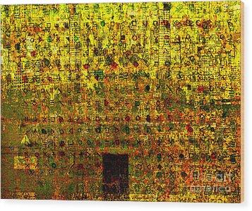 Secret IIi Wood Print by Andy  Mercer