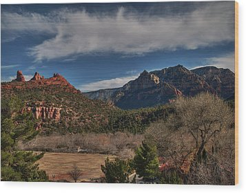 Wood Print featuring the photograph Sedona Arizona 001 by Lance Vaughn