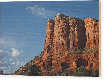 Sedona Arizona 1 Wood Print by Susan Heller
