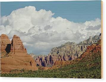 Wood Print featuring the photograph Sedona Arizona by Bill Gallagher