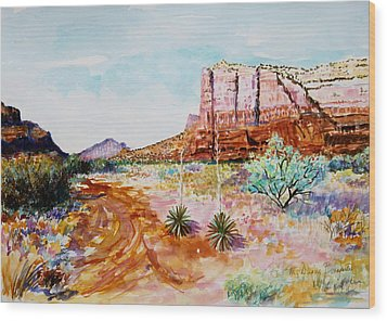 Sedona Bound Wood Print