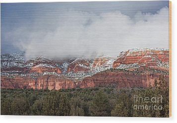 Wood Print featuring the photograph Sedona Revealed by Sandra Bronstein