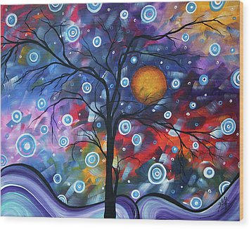 See The Beauty Wood Print by Megan Duncanson