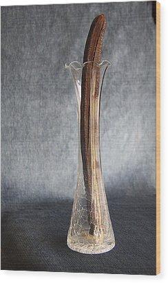 Wood Print featuring the photograph Seeds Inside. 12 O'clock. by Viktor Savchenko