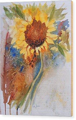 Seeds Of The Sun Wood Print