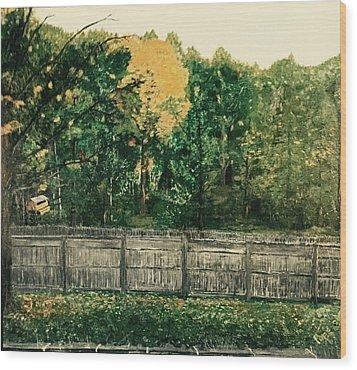 Seekonk Farm Wood Print