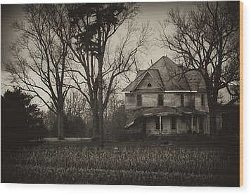 Seen Better Days Wood Print by Off The Beaten Path Photography - Andrew Alexander