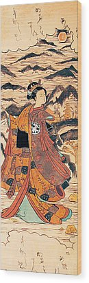 Segawa Kiyomitsu Wood Print by Carrie Jackson