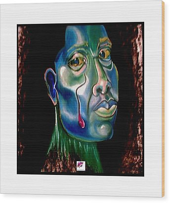 Self Portrait 1998 Wood Print