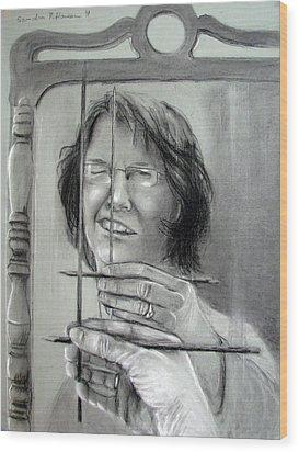 Self Portrait 2011 Wood Print