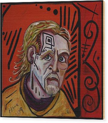 Self Portrait 4 Wood Print