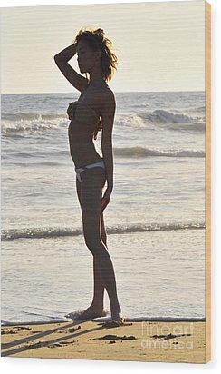 Self Reflecting Wood Print