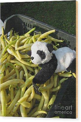 Wood Print featuring the photograph Selling Beans by Ausra Huntington nee Paulauskaite