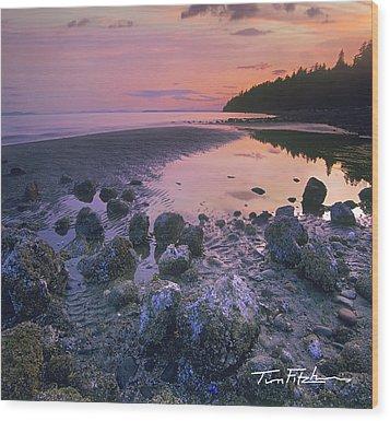 Semiahmoo Bay Wood Print