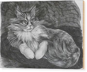 Semona Wood Print by Anna  Duyunova