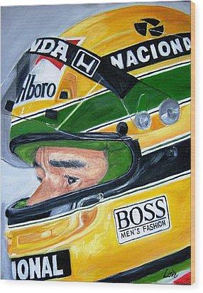 Senna  Wood Print