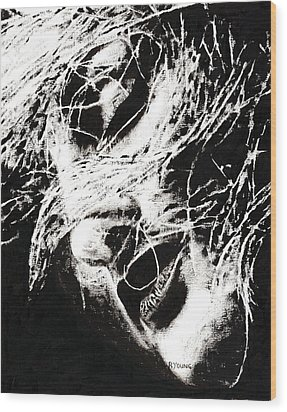 Sensations Wood Print by Richard Young
