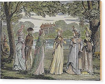 Sense & Sensibility, 1811 Wood Print by Granger