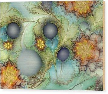 Sensorial Intervention Wood Print by Casey Kotas