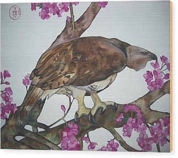 Sentinel Wood Print by Audrey N Reda