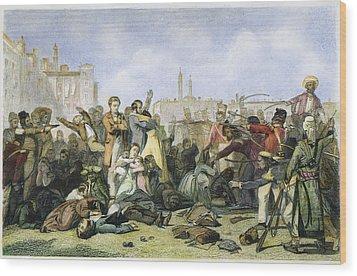Sepoy Mutiny, 1857 Wood Print by Granger