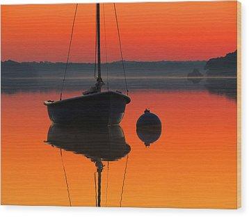 September Dreams Wood Print by Dianne Cowen