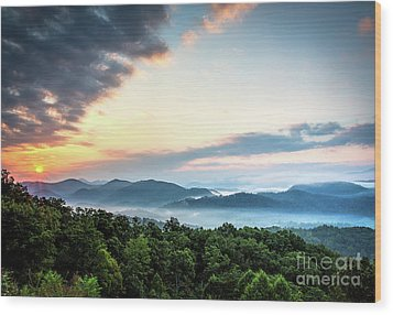Wood Print featuring the photograph September Sunrise by Douglas Stucky