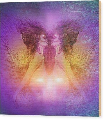 Seraphim Wood Print by Ragen Mendenhall