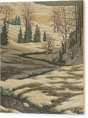 Serene Afternoon Wood Print