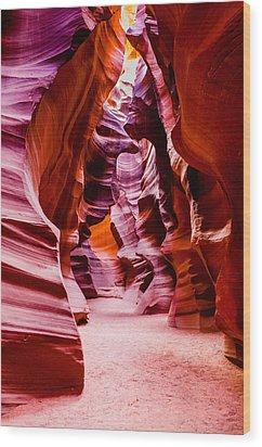 Serene Light Wood Print