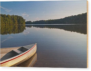 Serene Morning Wood Print by Dale Kincaid