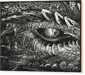 Serpentine Wood Print by Catherine Melvin