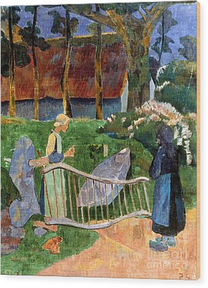 Serusier: Barriere, 1889 Wood Print by Granger