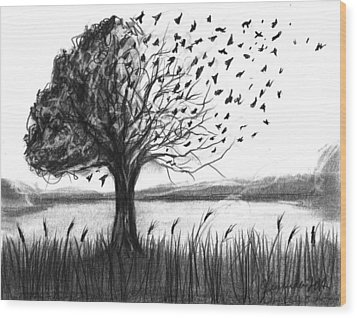 Set Free Wood Print