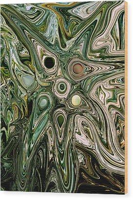 Seven Stones Wood Print