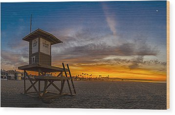 Wood Print featuring the photograph Seventeen You're Clear For Takeoff by Sean Foster