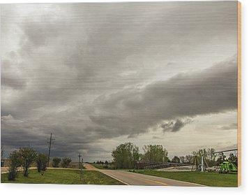 Severe Nebraska Weather 013 Wood Print