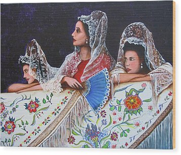 Sevilla's Ladies Wood Print