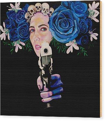 Sex Pistol Wood Print by Yelena Tylkina