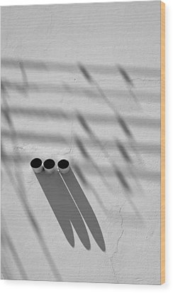 Shadow Notes 2006 1 0f 1 Wood Print