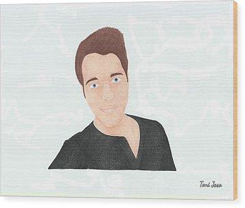 Shane Dawson Wood Print